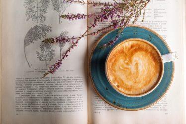 コーヒーマシンの前